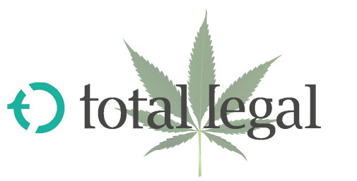 TotalLegal Logo with Marijuana