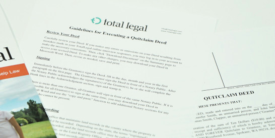 TotalLegal Quitclaim Deed